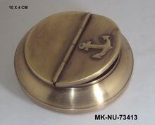 Nautical Style Brass Ashtray