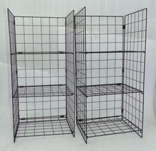 Iron Wire Folding Shoe Rack