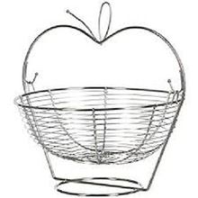 Stainless Steel Apple Shape Fruit Basket
