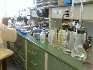 Isi Water Plant Laboratory Set Up