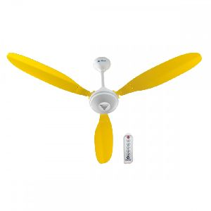 Super X1 Yellow Ceiling Fan