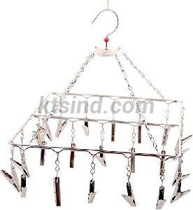 Stainless Steel Clothes Clip Hanger