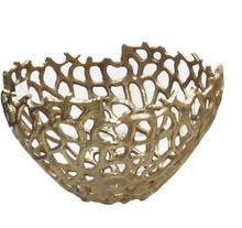 Aluminium Decorative Fruit Bowl