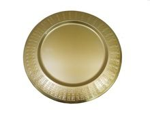 Metal Gold Charger plate