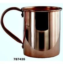 Copper Metal Mirror Polish Beer Mug