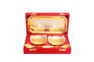 Brass Gold Polish Gift Set