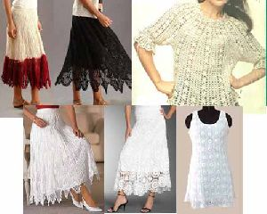 Lace Skirts Tops