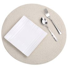 Braiding Round Table Placemat