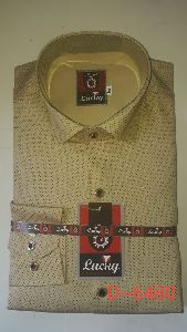 Mens Casual Dotted Shirt