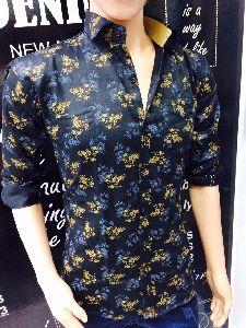 Mens Partywear Casual Shirt