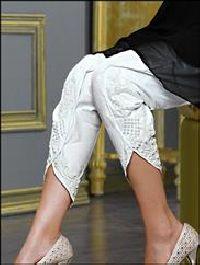 White L Size Exclusive Tulip Pant