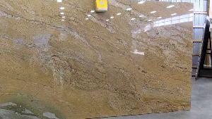 Golden Spray Granite Slabs
