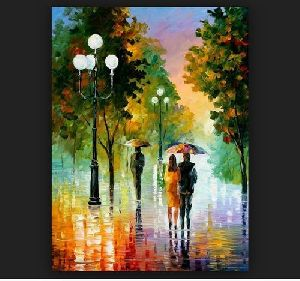 Oil Canvas Paintings