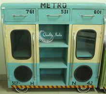 Metro design iron cabinet furniture