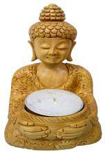 Buddha Statue T-light Holder