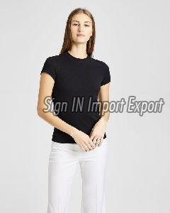 Ladies Round Neck T-shirt