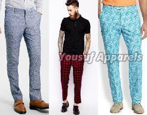 Mens Printed Pants