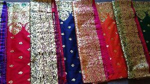 Pure Silk Gold Zari Opara Saree