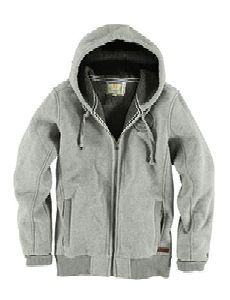 Drawcord Long Sleeve Hooded