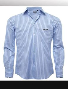 Woven Formal Shirt With Dtm Front Buttons