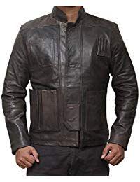 Mens Vintage Lambskin Black Leather Jacket