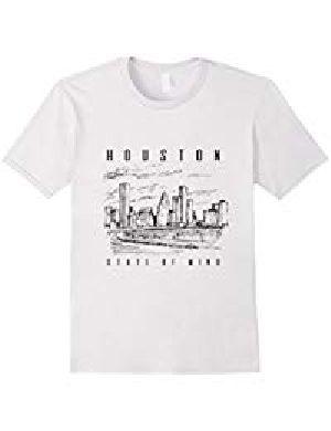 Round Neck Printed T- Shirt 02