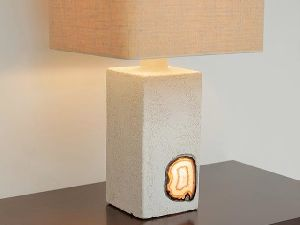 Agate Stone Table Lamp
