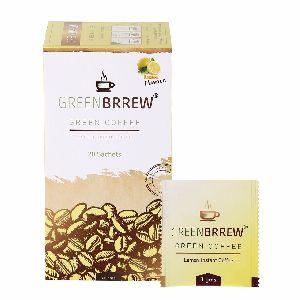 Greenbrrew Lemon Instant Green Coffee 60 Gms