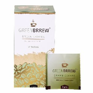 Greenbrrew Natural Instant Green Coffee 60 Gms