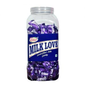 Milk Love Jar Candy
