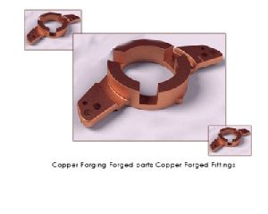 Copper Forging Forged Parts Copper Forged Fittings