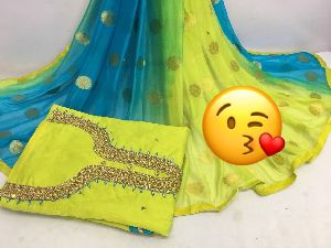 Cotton Silk Dress Material
