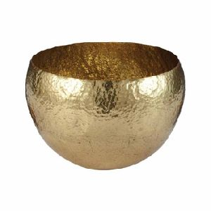 Decorative Gold Metal Bowls