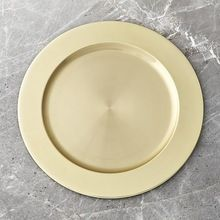 Gold Plated Charger Plate