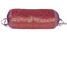 Silk Bolster Cover Pillow