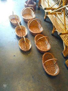 Willow Designer Baskets (boat )