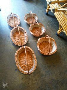 Willow Designer Baskets (oval,clover)