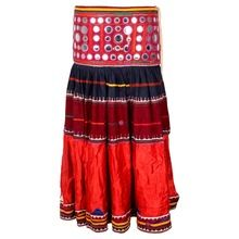Banjara Short Silk Skirt
