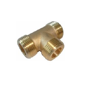 Brass Tee Pipe Fitting