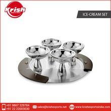 Stainless Steel Ice Cream Set