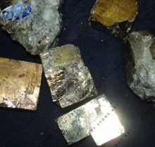 Golden Pyrite Quartz Stone