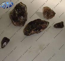 Smoky Dark Semi Precious Stone