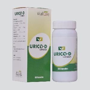 Urico-d Capsules (herbal Hypoglycemic)