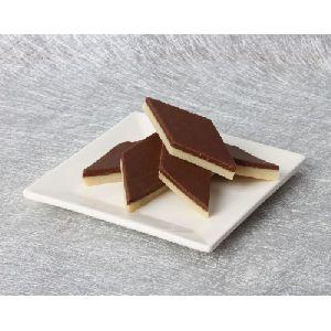 Homemade Chocolate Kaju Katli (kattri)
