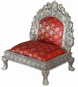 Silver Indian Wedding Furnitur