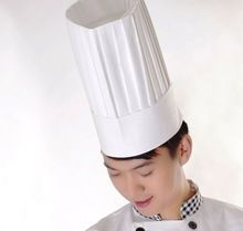 Disposable Paper Chef Hat