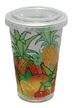Plastic juice cups
