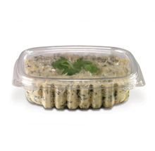 SALAD CRYSTAL CLEAR CONTAINERS