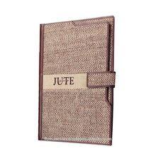 Jute Promotional Conference File Folder