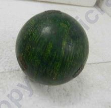 Green Round Christmas Ball